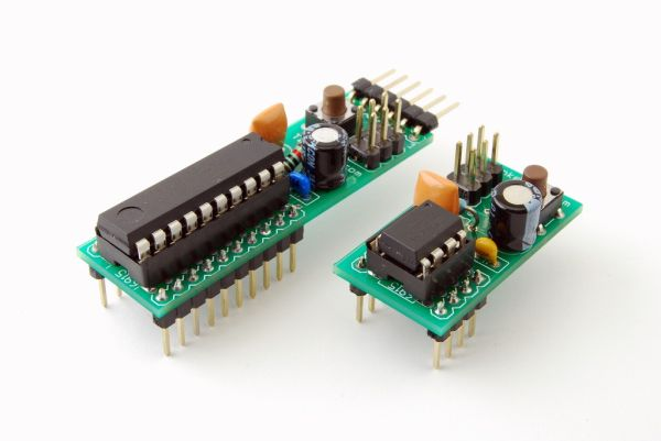 ATtiny breadboard headers using ATtiny2313