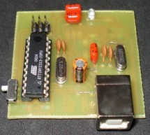 USB AVR in-system Programmer using ATtiny2313