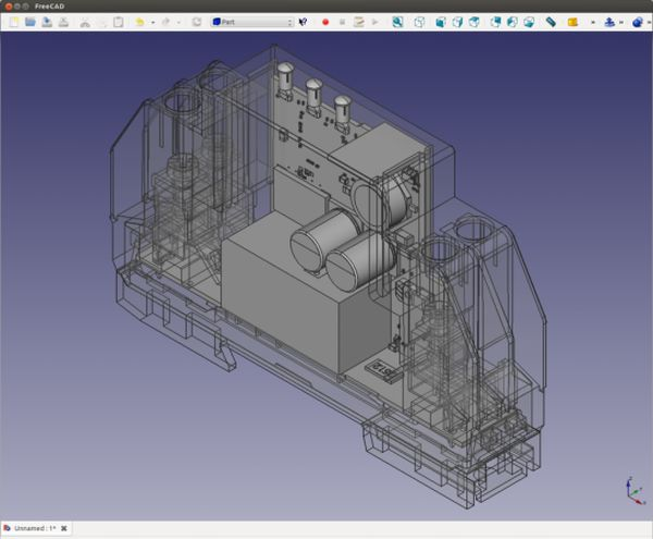 Import eagle boards in mechanical CAD drawings