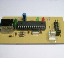 Atmel AVR Infrared Downloader using ATmega8