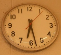 Arduino-based master clock for schools using ATmega128