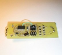 USB controlled DDS signal generator with ATmega88