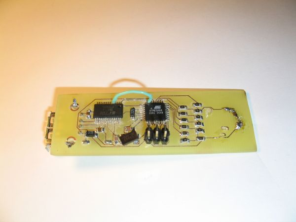 USB controlled DDS signal generator with ATmega88