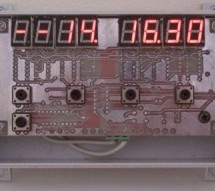 xTimer with 4094 using ATMEL89C2051 microcontroller