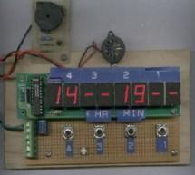 xTimer V1.0 using AT89C4051 microcontroller