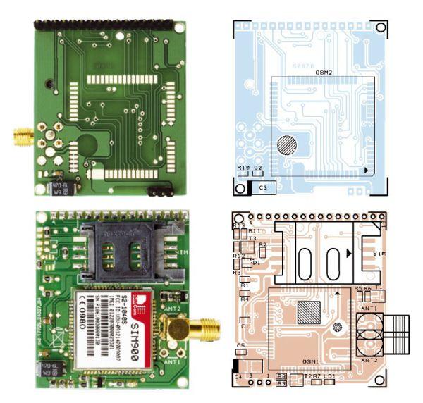 PCB GSM Module