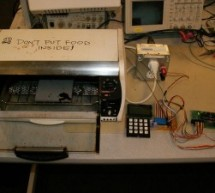 The Reflow Soldering Oven with LCD Display using ATmega32