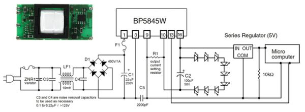 The Latest LED driving ICs and Modules