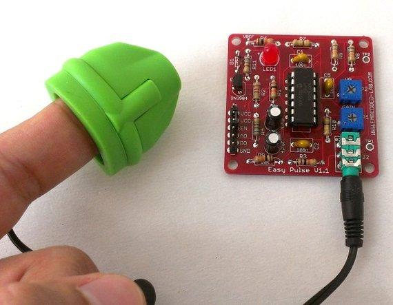 Easy Pulse kit: A DIY pulse sensor based on photoplethysmography