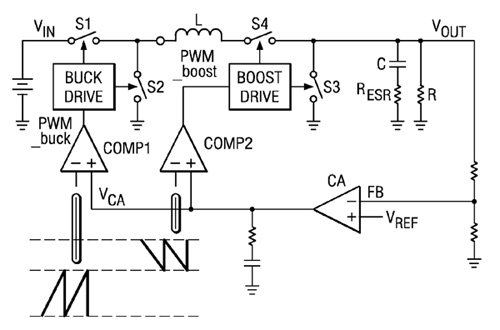 Buck-Boost Converters Help Extend Battery Life for Motion Detection