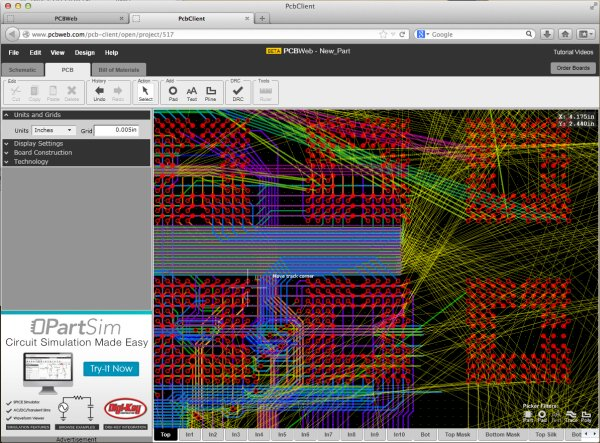PCBWeb – Free Online PCB Design Software - ATMega32 AVR