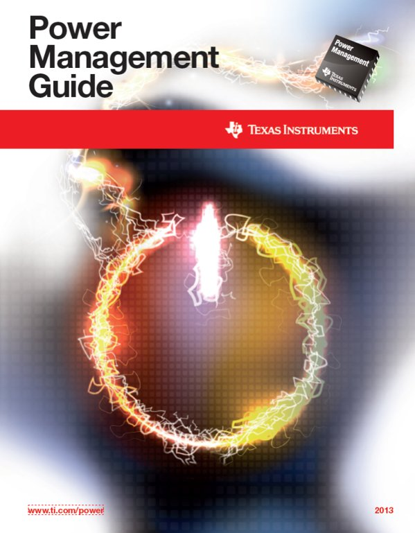 TI's Power Management Guide 2013 edition