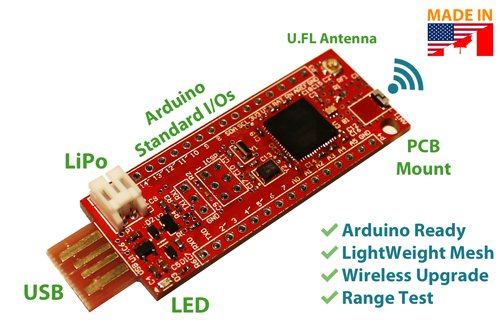 The miniSWARM – Scalable Wireless Arduino Radio Module