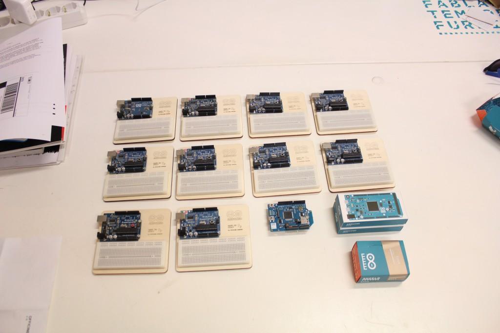 Arduino a Codemotion 2012 Venezia
