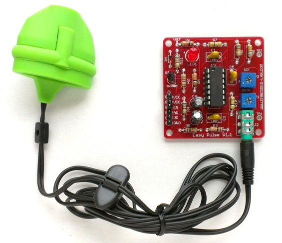 Easy Pulse Sensor is now available for purchase from Elecrow