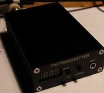 Enhancing An FM Transmitter's Firmware using ATmega48