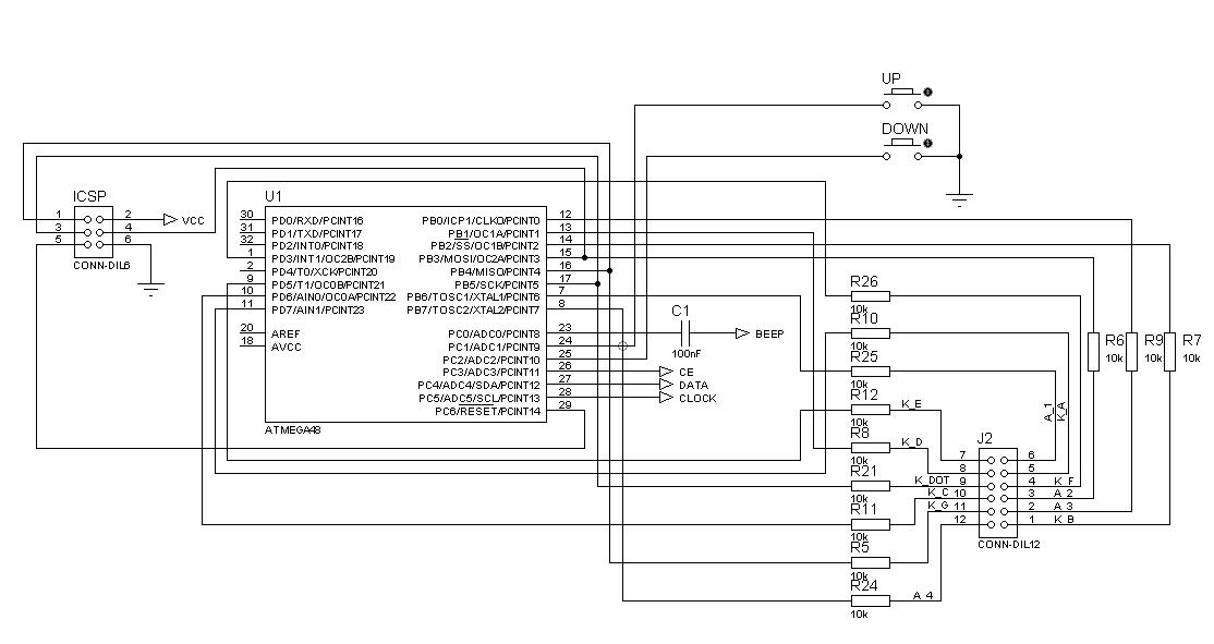 FM Transmitter's Firmware schematic