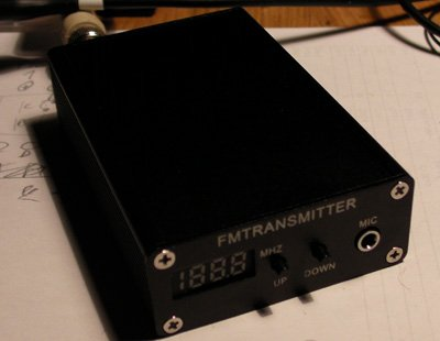 Enhancing An FM Transmitter's Firmware using ATmega48