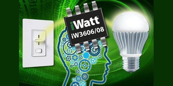 iW3606 – New LED Drivers Deliver Exceptional Bulb Dimming Performance