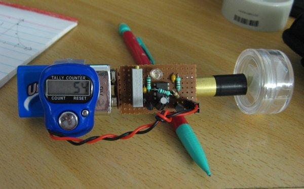 Photodiode Gamma Ray Detector
