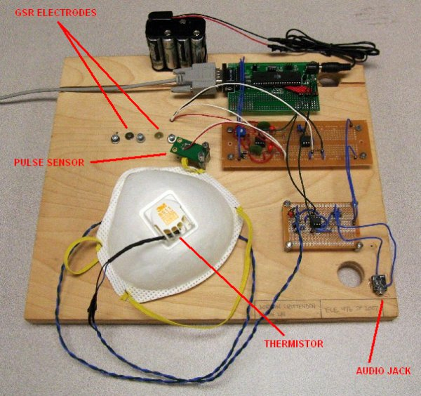 DIY Polygraph Mask using ATmega32