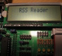 RSS Reader using ATmega8 microcontroller