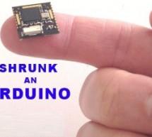 Honey I Shrunk The Arduino using ATmega328p