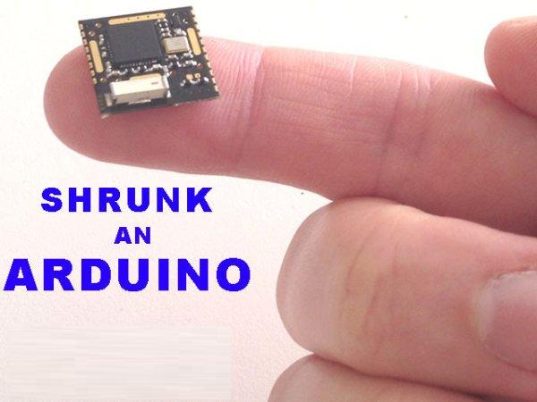 Honey I Shrunk The Arduino using ATmega328p