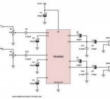 The Simplest Stereo Amplifier Circuit Diagram