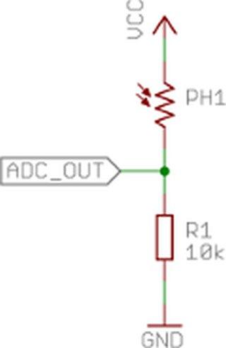 USB Sensors with ATtiny Microcontrollers circuit