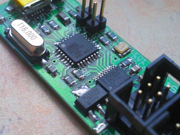 USBTiny-MkII SLIM programmer