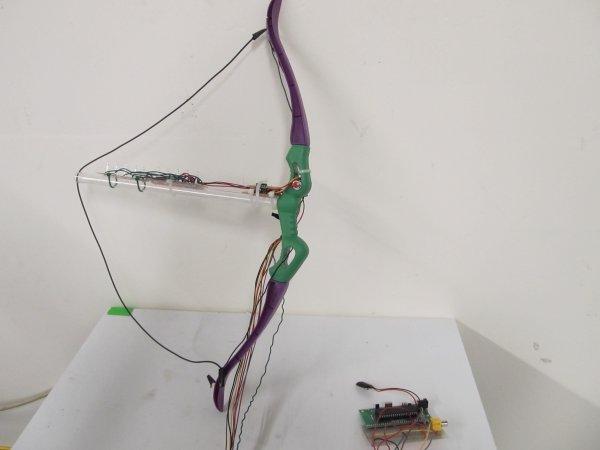 Virtual Archery using ATmega1284P