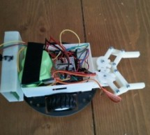 Watch controlled robot using AVR microcontroller