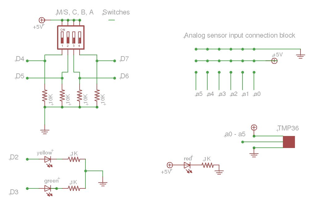 an Arduino based data logger schematic