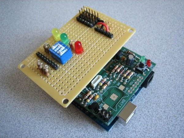 HexiLogger, an Arduino based data logger using ATmega328