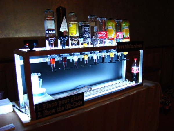 Social Drink Machine (powered with Arduino)