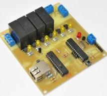 A Remotely Programable Relay Controller