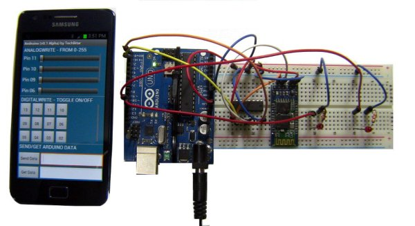 A Simple 2-Way Bluetooth-based Android Controller for Arduino