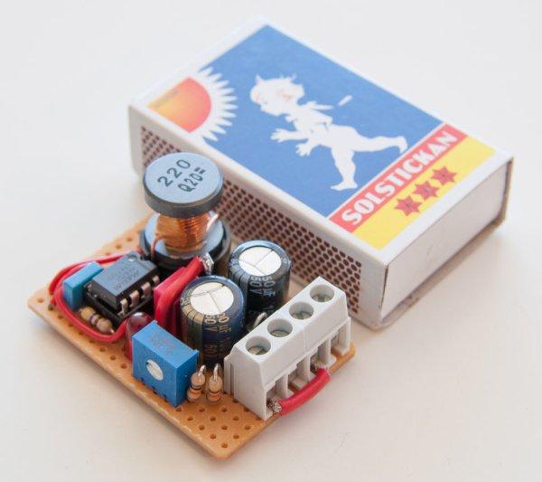Adjustable Voltage Step-up