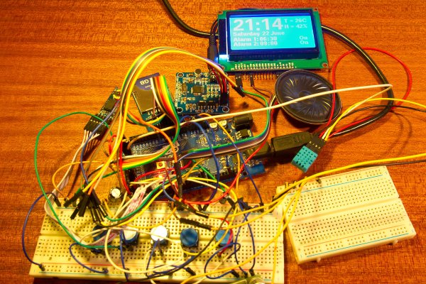 Arduino MP3 alarm clock