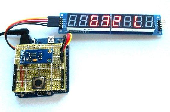 Building a simple digital light meter using Arduino and BH1750FVI sensor