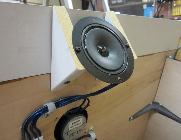 Cobies Cheap Open Baffle Speakers Atmega32 Avr