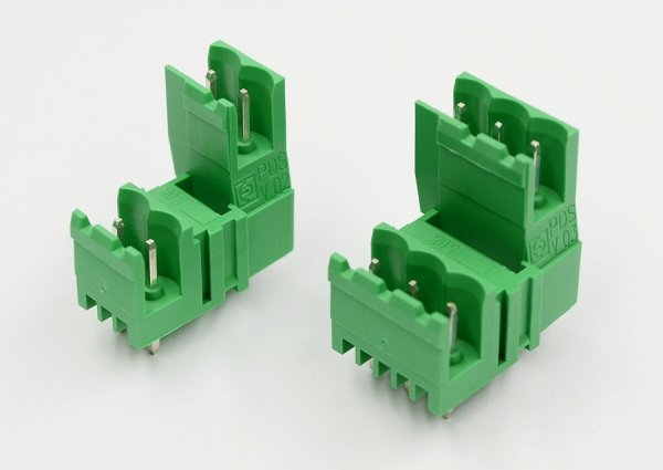 Double terminal blocks PDSV can be more than 4