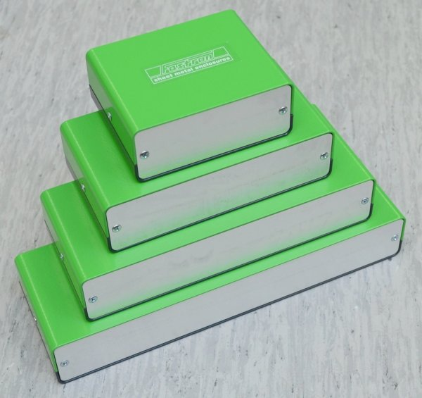 Fastron - metal enclosures with fluent shapes