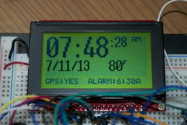 GPS Clock Prototyping