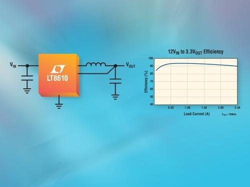 High Efficiency Ultralow IQ Sync Buck Regulator