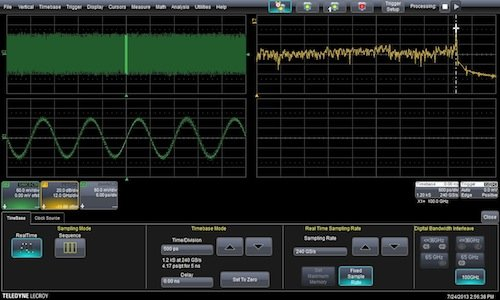 LeCroy raises bar with 100GHz scope