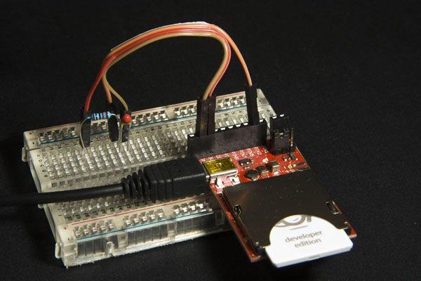 Simple wireless temperature sensor updating