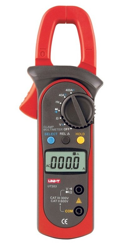 "UT203 clamp multimeters ""see"" even a DC current"
