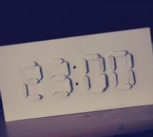 Digital:Analog Clock – Arduino + PaperCraft